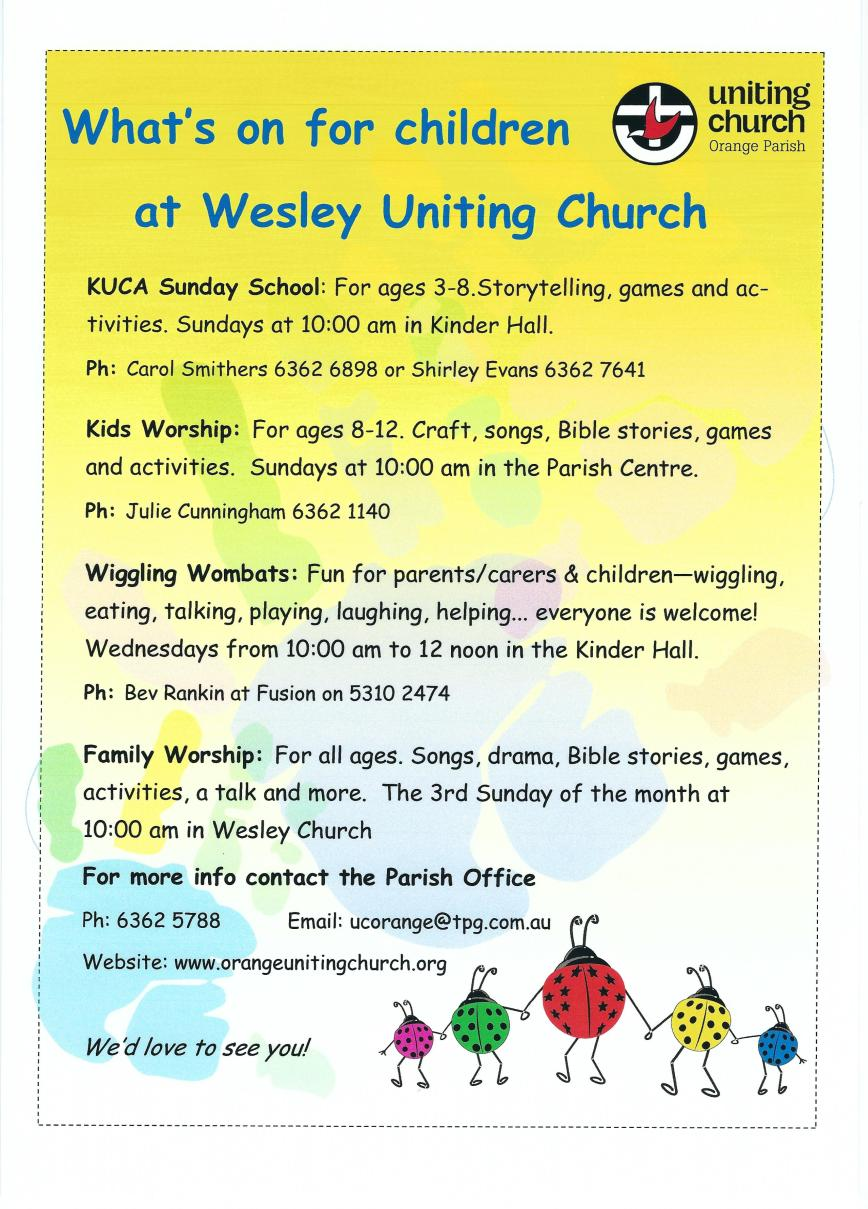 Kids Ministry in Wesley
