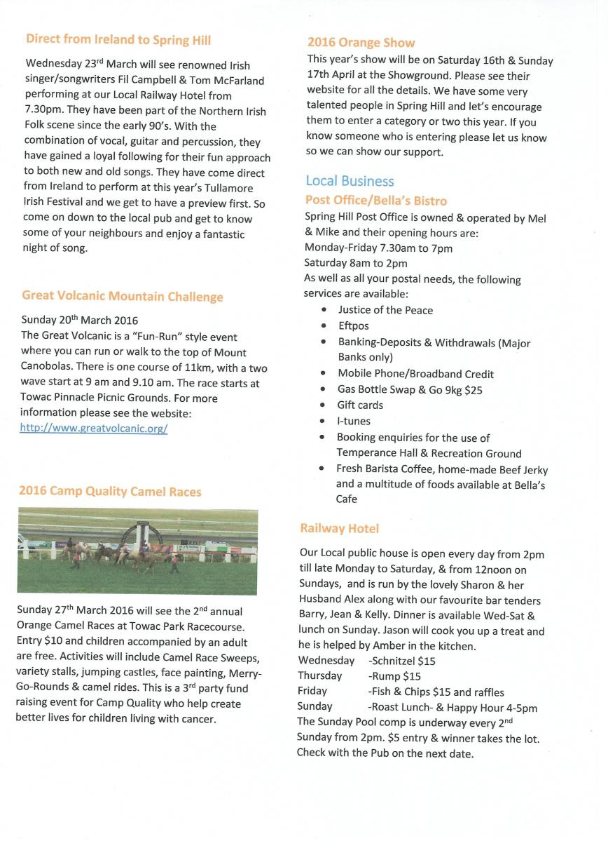 Spring Hill Newsletter - March - P3