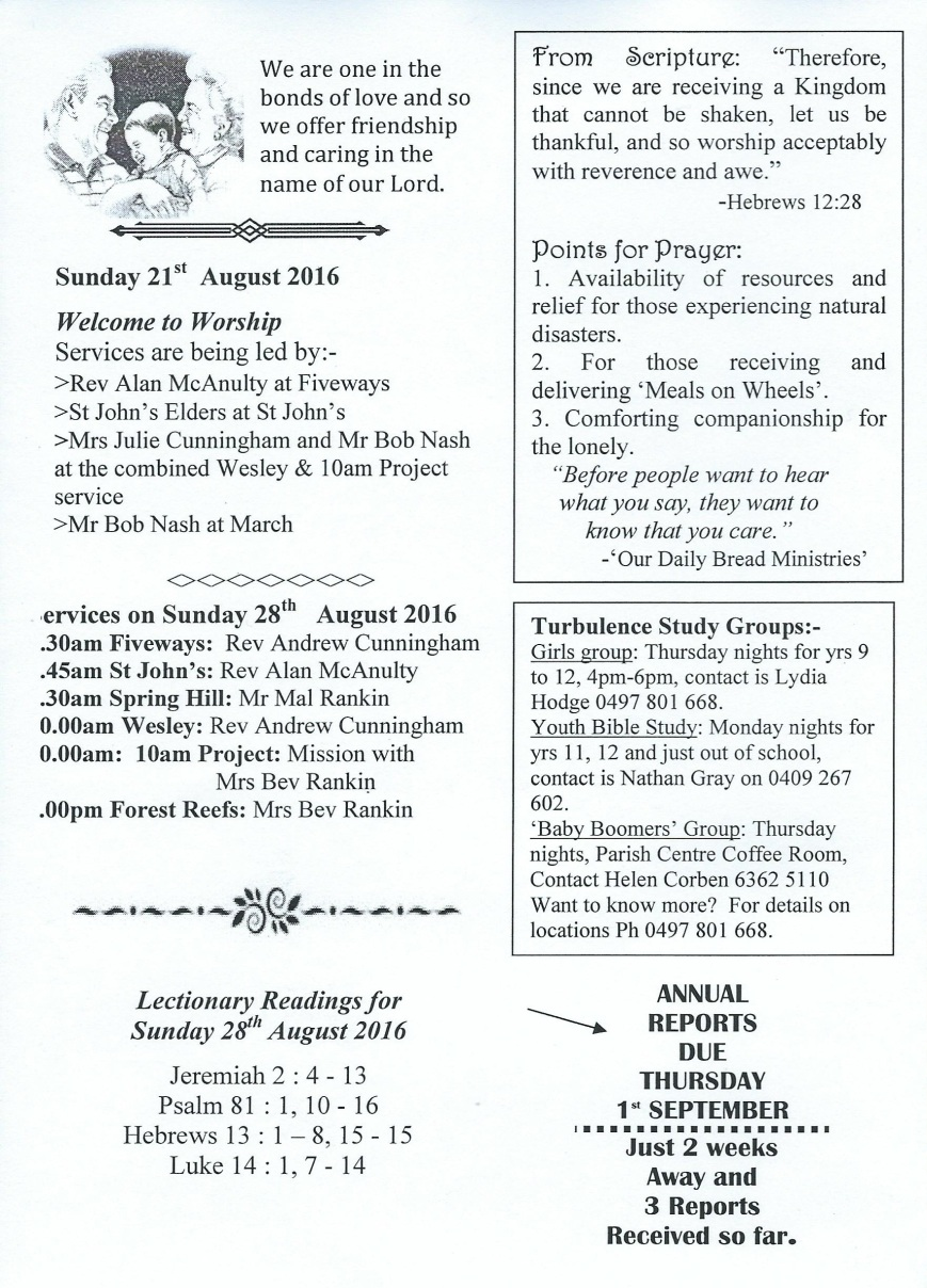 Focus - 21st Aug - Page 2